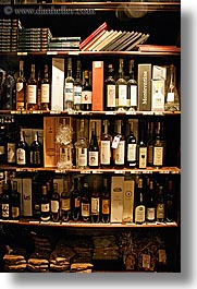bottles, europe, italy, montalcino, stores, towns, tuscany, vertical, wines, photograph