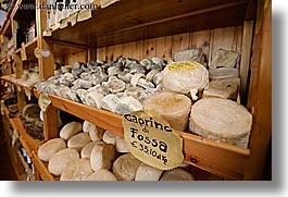 cheese, europe, horizontal, italy, pienza, stores, towns, tuscany, photograph