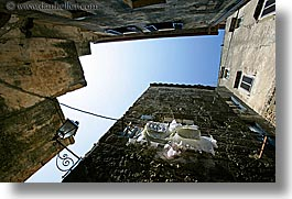 clothes, europe, hangings, horizontal, italy, laundry, pitigliano, towns, tuscany, photograph
