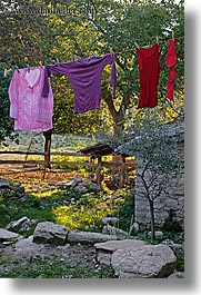 europe, hangings, italy, laundry, poderi di coiano, towns, tuscany, vertical, photograph