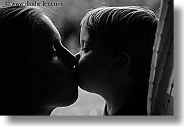 babies, black and white, boys, childrens, europe, horizontal, italy, jack and jill, kissing, mothers, poderi di coiano, toddlers, towns, tuscany, womens, photograph