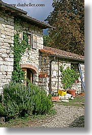 europe, houses, italy, poderi di coiano, stones, towns, tuscany, vertical, photograph