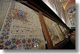 arts, churches, europe, frescoes, gallery, horizontal, italy, museums, music, paintings, religious, siena, towns, tuscany, photograph
