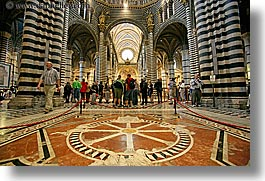 churches, europe, floors, horizontal, inlaid, italy, marble, religious, siena, towns, tuscany, photograph