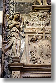 arts, churches, europe, italy, marble, religious, sculptures, siena, statues, towns, tuscany, vertical, photograph