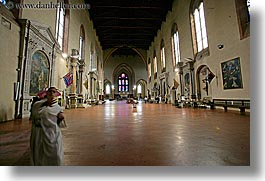 churches, europe, hands, horizontal, italy, men, monks, religious, siena, towns, tuscany, waving, photograph