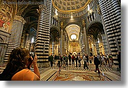 churches, europe, horizontal, italy, photographers, photographing, religious, siena, tourists, towns, tuscany, womens, photograph