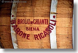 barrels, chianti, europe, horizontal, italy, red wine, siena, towns, tuscany, woods, photograph