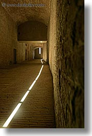 europe, floors, hallway, italy, lighted, siena, slow exposure, stones, towns, tuscany, vertical, photograph