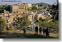 cities, cityscapes, cliffs, europe, horizontal, italy, sorano, towns, tuscany, photograph