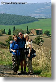 dale, europe, happy, italy, jan, men, people, sandy, steve, tourists, tuscany, vertical, womens, photograph