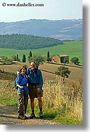 couples, dale, europe, happy, italy, jan, men, people, steve, tourists, tuscany, vertical, womens, photograph
