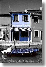 burano, color composite, color/bw composite, europe, italy, venecia, venezia, venice, vertical, photograph