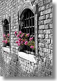 color composite, color/bw composite, doors & windows, europe, italy, venecia, venezia, venice, vertical, win, photograph