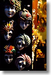 europe, italy, masks, rialto bridge, venecia, venezia, venice, vertical, photograph