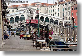 bridge, europe, horizontal, italy, rialto, rialto bridge, sidewalks, venecia, venezia, venice, photograph