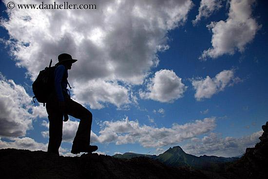hiking silhouette desktop wallpaper - photo #46