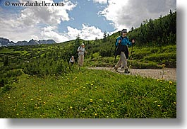 activities, europe, hikers, hiking, horizontal, mountains, nature, paths, people, poland, photograph