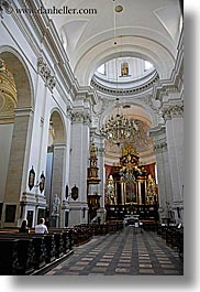 churches, europe, interiors, krakow, poland, st peter paul church, vertical, photograph