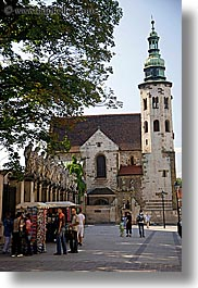 apostles, churches, europe, krakow, poland, statues, vertical, photograph