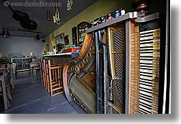 bars, europe, horizontal, jewish quarter, krakow, piano, poland, warsztat music cafe, photograph