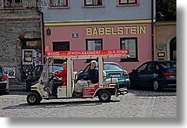 carts, europe, horizontal, jewish, jewish quarter, krakow, poland, religious, tours, photograph