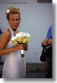 blonds, brides, europe, flowers, krakow, people, poland, vertical, womens, photograph