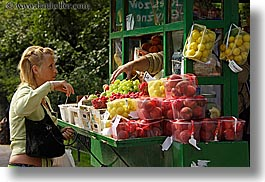 europe, fruits, hands, horizontal, krakow, people, poland, womens, photograph