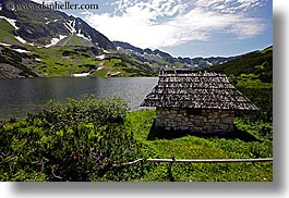 europe, horizontal, huts, lakes, landscapes, mountains, poland, photograph