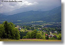 europe, horizontal, mountains, poland, scenics, valley, zakopane, photograph