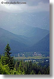 europe, mountains, poland, scenics, valley, vertical, zakopane, photograph