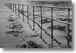 england, europe, horizontal, rails, scotland, united kingdom, water, photograph