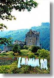 donan, england, europe, laundry, scotland, united kingdom, vertical, photograph