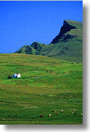 england, europe, kilt, rocks, scotland, skye, united kingdom, vertical, photograph