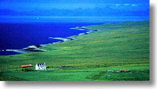 england, europe, horizontal, houses, scotland, seaside, skye, united kingdom, photograph