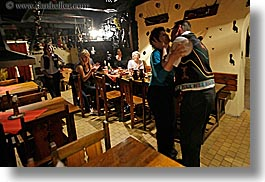 artists, couples, dancing, europe, gypsy music, horizontal, men, music, musicians, people, slovakia, womens, photograph