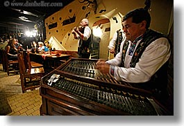 artists, dulcimer, europe, gypsy music, hammered, horizontal, men, music, musicians, people, players, slovakia, photograph