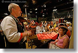 artists, audience, europe, gypsy music, horizontal, men, music, musicians, people, slovakia, photograph