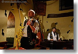 artists, europe, gypsy music, horizontal, men, music, musicians, people, players, singing, slovakia, violins, photograph