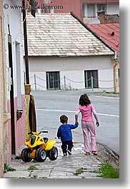 big, boys, brothers, childrens, europe, girls, little, people, sisters, slovakia, vertical, photograph