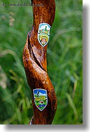 cane, emblems, europe, hiking, slovakia, vertical, photograph