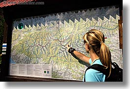 europe, hiking, horizontal, map, pointing, slovakia, trails, photograph