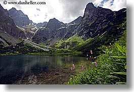 europe, horizontal, lakes, mountains, slovakia, water, photograph