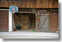 barn, basketball, bohinj, europe, hoop, horizontal, slovenia, photograph