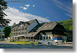 bohinj, europe, horizontal, hotels, jezero, slovenia, photograph
