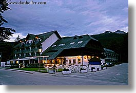 bohinj, europe, horizontal, hotels, jezero, slovenia, slow exposure, photograph