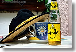 beers, bohinj, europe, hats, horizontal, mug, slovenia, smiles, photograph
