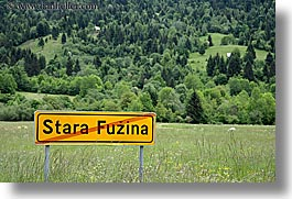 bohinj, europe, fuzina, horizontal, signs, slovenia, stars, photograph