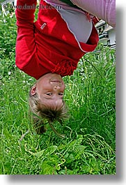 bohinj, europe, girls, people, slovenia, upside down, vertical, photograph
