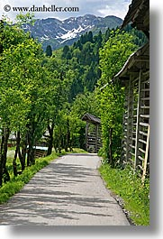bohinj, europe, mountains, roads, scenics, slovenia, vertical, photograph